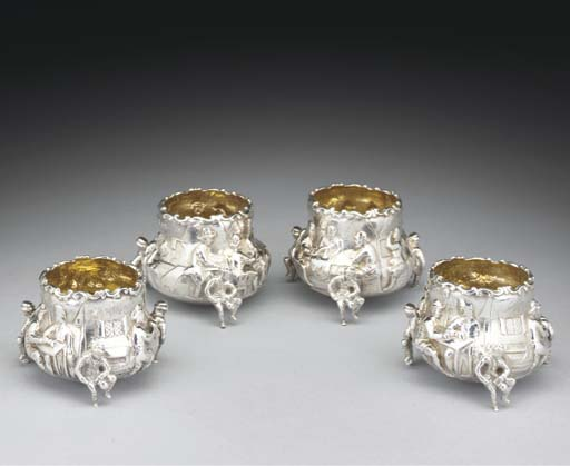 A Matched Set of Four Victoria