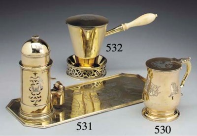 A George III Silver-Gilt Mug w