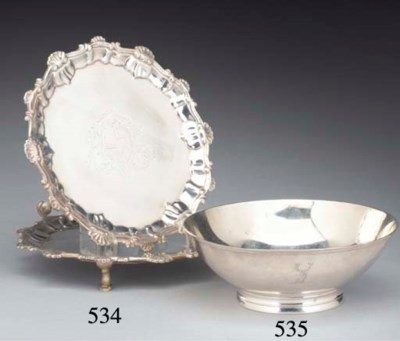 A George III Silver Bowl