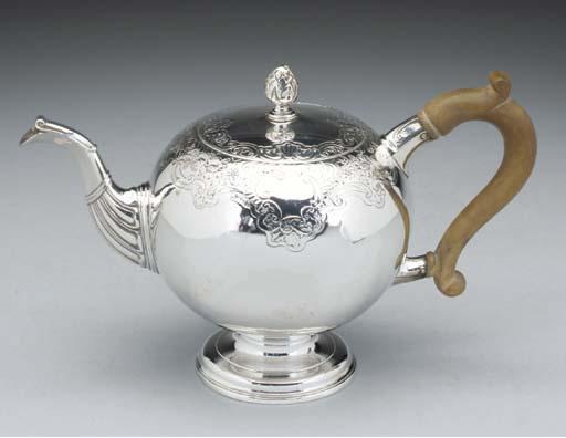 A George II Scottish Silver Bu