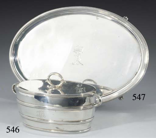 A George III Silver Butter Dis