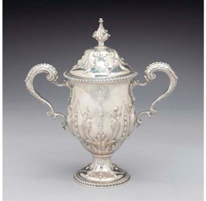 A George III Silver Cup and Co