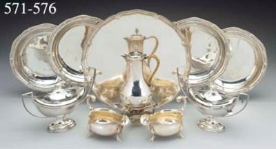A Pair of George II Silver Sau