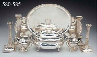 A George III Silver Soup Turee