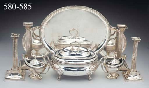 A George III Silver Tray