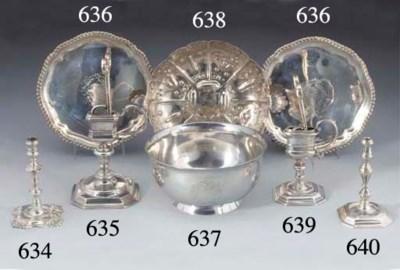 A Charles I Silver Sweetmeat D