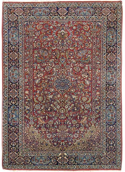 A pair of very fine Isfahan pr