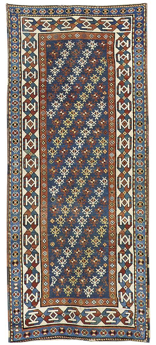 An unusual antique Talish rug,
