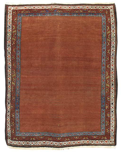 An antique Malayir rug, West P