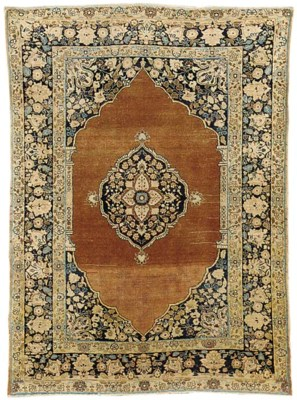 An antique Tabriz rug, North-W