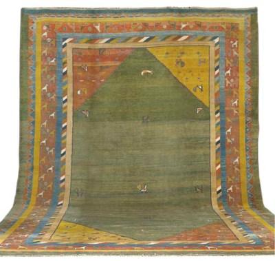 An unusual Gabeh carpet, South