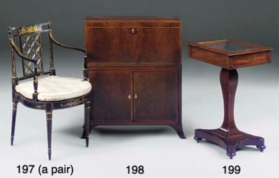 A PAIR OF REGENCY LATER DECORA