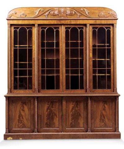 A Scottish George IV mahogany