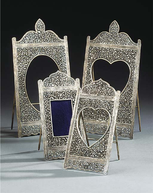 TWO PAIRS OF FILLIGREE SILVER