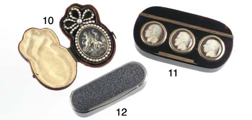 A Cased Russian Silver and Nie