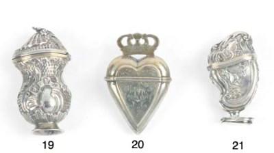 A Danish Parcel-Gilt Silver Vi