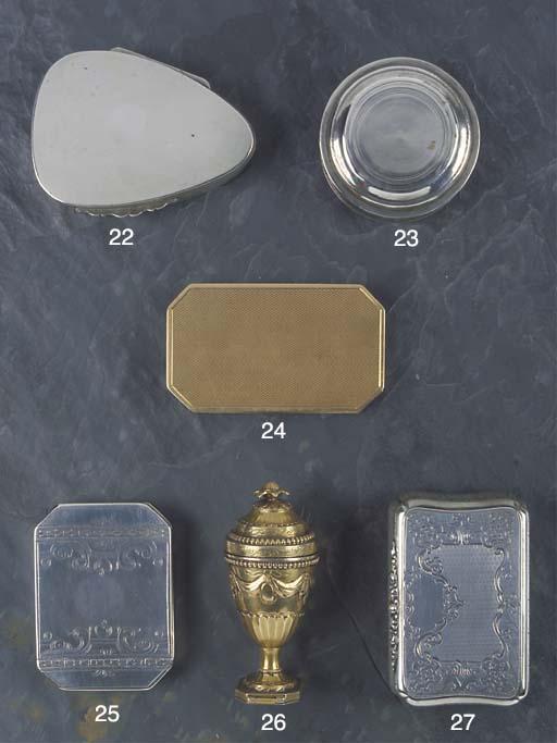 An Austrian Silver Snuff Box