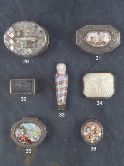 A George III Silver Nutmeg Gra
