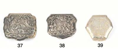 A George II Silver Snuff Box