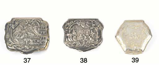 A French Silver-Gilt Snuff Box