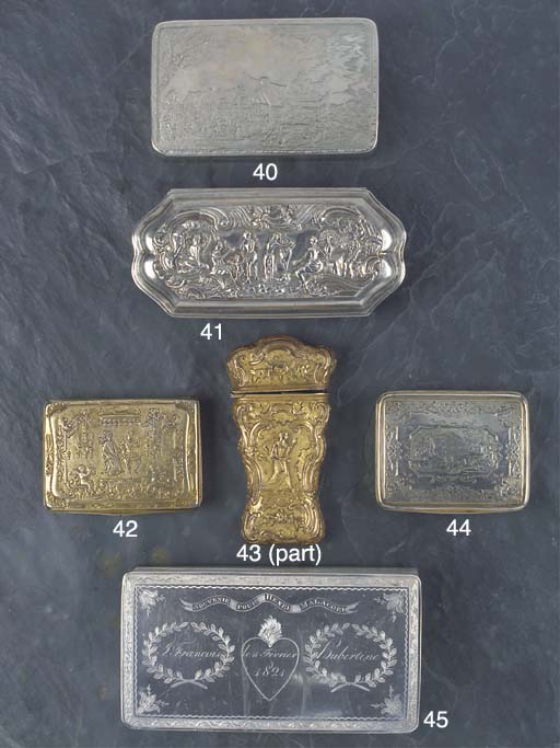 A Continental Silver Tobacco B