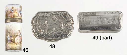Two various snuff-boxes