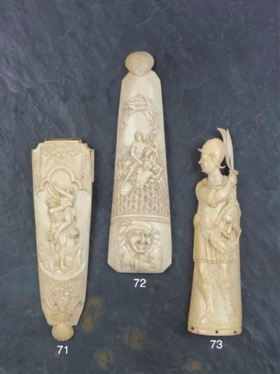 A Rare Ivory Tobacco Rasp