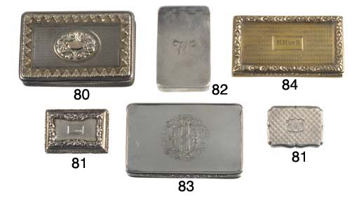 A George IV Silver-Gilt Snuff Box