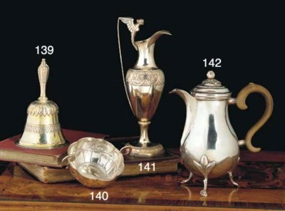 A Spanish Colonial Silver Two-