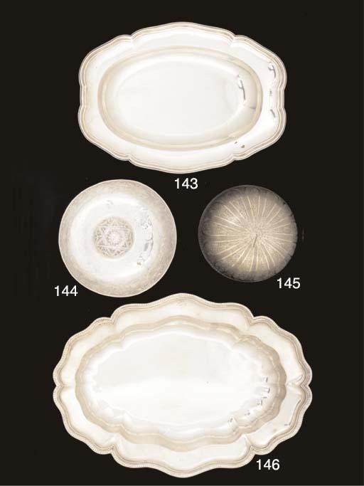 A Turkish Parcel-Gilt Silver Bowl