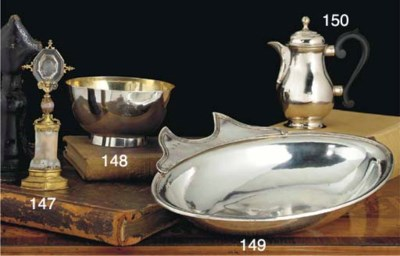 A Spanish Silver Shaving Dish