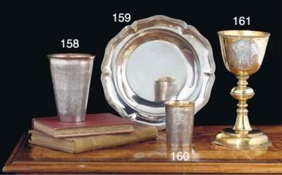 A Hungarian Silver-Gilt Chalic