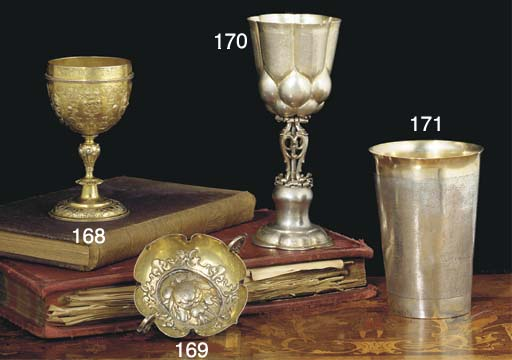 A Hungarian Parcel-Gilt Silver