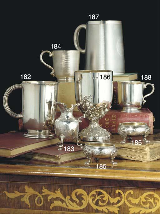 A George V Silver Mug