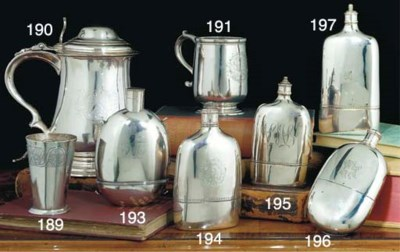 A George III Silver Spirit Fla