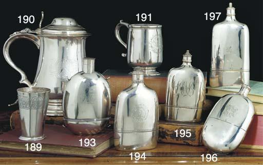 A George II Silver Spirit Flask
