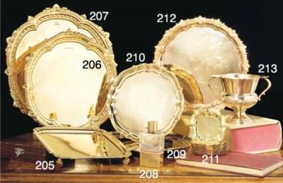 A George VI 18ct Gold Salver