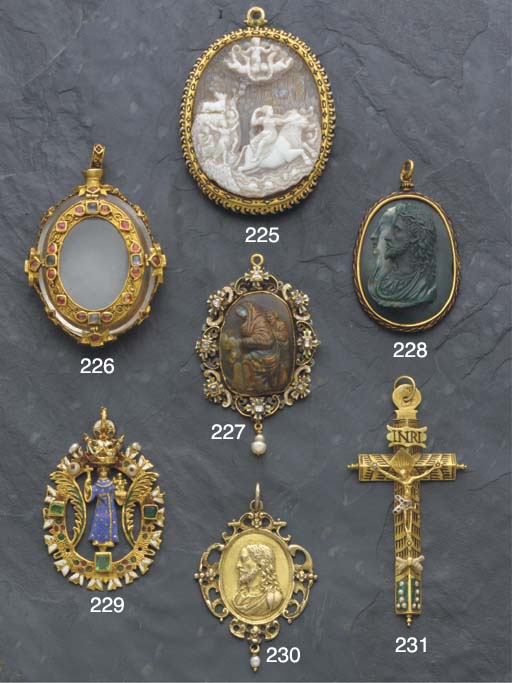 A 16th/17th century jewelled g