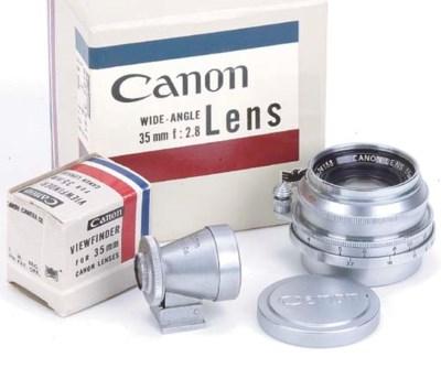 Canon 35mm. f/2.8 no. 24133