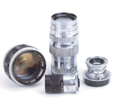 Canon screwfit lenses
