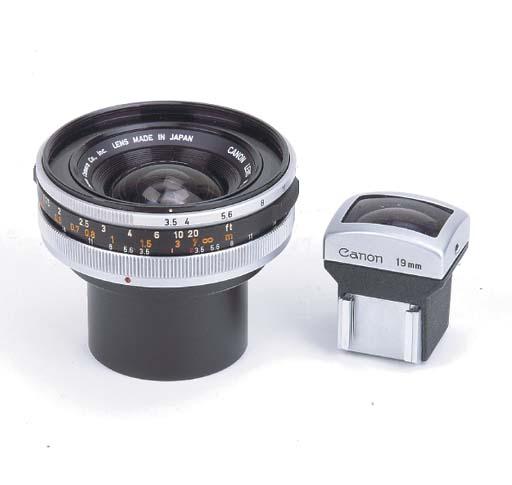 Canon FL 19mm. f/3.5 no. 11916
