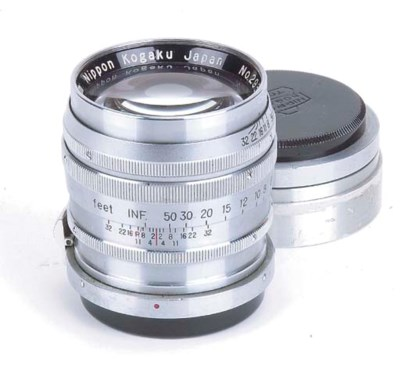 Nikkor-P·C f/2 8.5cm. no. 2937