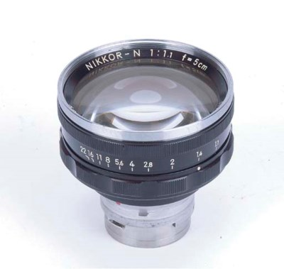 Nikkor-N f/1.1 5cm. no. 120689