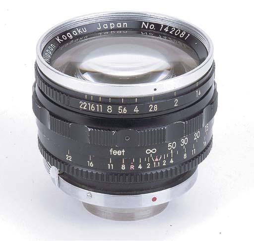 Nikkor-N f/1.1 5cm. no. 142081