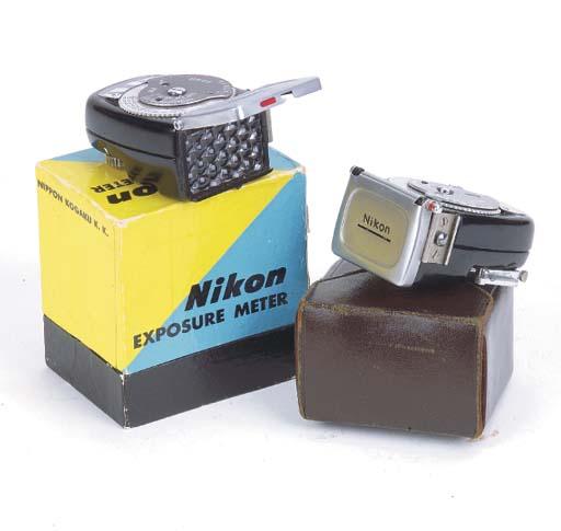 Nikon exposure meter no. 95437