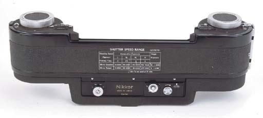 Nikkor F250 motor drive back no. 134764