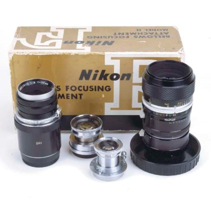 Nikon lenses and accessories