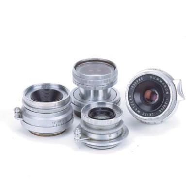 Leica screw-fit lenses