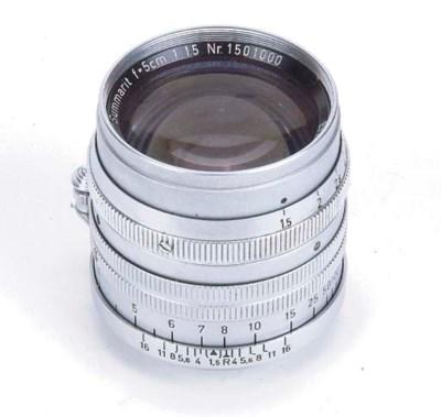 Summarit 5cm. f/1.5 no. 150100