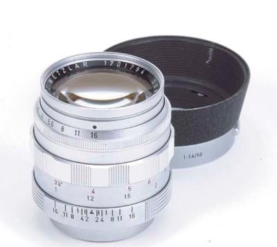 Summilux f/1.4 50mm. no. 17017